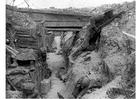 Foto loopgraaf - battle of the Somme