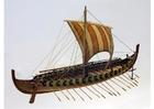 Foto model van Gokstad Vikingschip