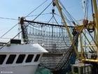 Foto netten visserschip