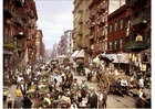 Foto New York - Mulberrystraat 1900