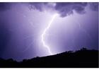 Foto onweer - bliksem