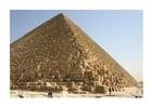Foto piramide Cheops in Gizeh