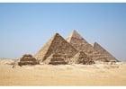 Foto piramides van Gizeh