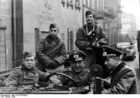 Foto Polen - Ghetto Litzmannstadt - Duitse soldaten