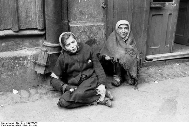 Foto Polen - Ghetto Warschau - ghettopolitie. Gratis foto