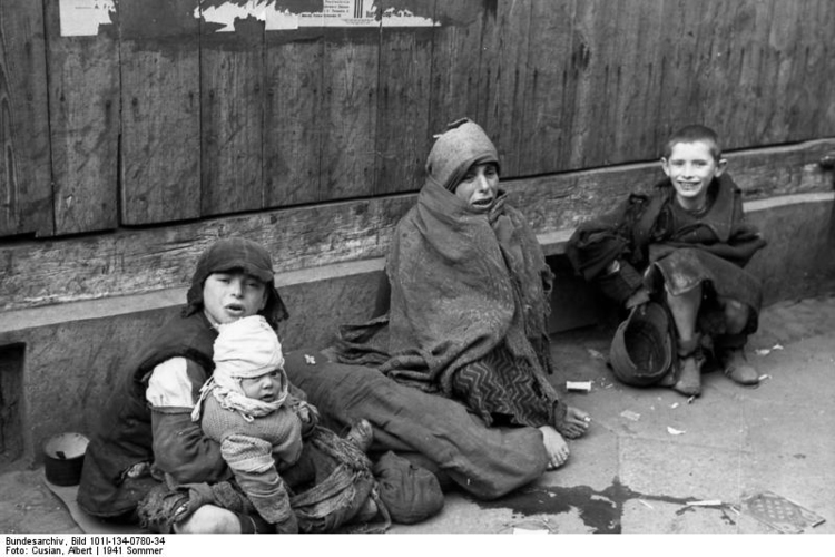 Foto Polen - Ghetto Warschau - kinderen (2). Gratis fotos