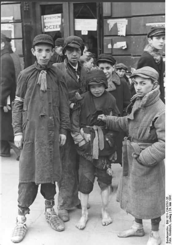 Foto Polen - Ghetto Warschau - kledijwissel. Gratis fotos