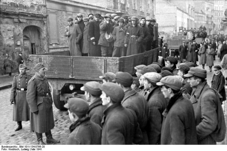 Foto Polen - Ghetto Warschau (8). Gratis fotos om te printen.