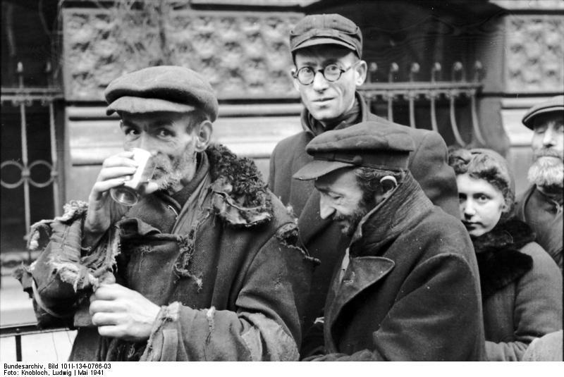Foto Polen - Ghetto Warschau - marktplaats (2). Gratis