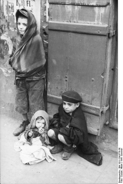 Foto Polen - Ghetto Warschau. Gratis fotos om te printen