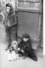 Foto Polen - Ghetto Warschau - kinderen
