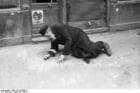 Foto Polen - Ghetto Warschau - oude man