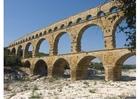 Foto Romeins aquaduct, Nimes, Frankrijk