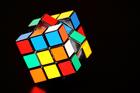 Foto rubiks kubus