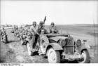 Foto Rusland - gemotoriseerde troepen