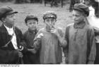 Foto Rusland - rokende kinderen