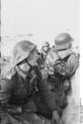 Foto Rusland - soldaten in loopgraven