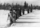 Foto Rusland - soldaten in sneeuw