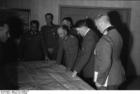 Foto Rusland - vergadering met Hitler