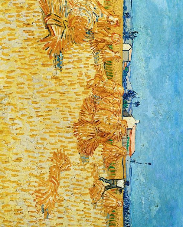 Foto schilderij van vincent van gogh afb 29714 - Foto van slaapkamer schilderij ...