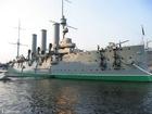 Foto slagschip Aurora