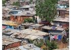 Foto sloppenwijk Soweto Zuid-Afrika