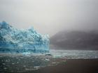 Foto smeltende gletsjer