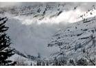 Foto sneeuwlawine