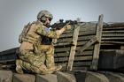 Foto soldaat