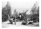 Foto soldaten laden kanon - Frankrijk