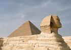 Foto sphinx in Gizeh