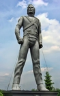 Foto standbeeld Michael Jackson