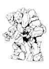 Foto Stone Elemental - man van steen