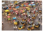 Foto straatbeeld India