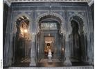 Foto tempel binnenkant