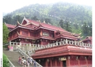 Foto tempel op Mount Emei