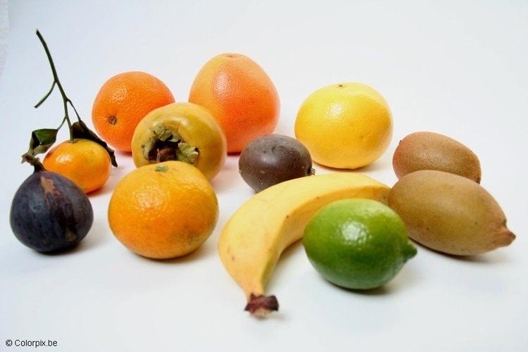 Foto uitheems fruit