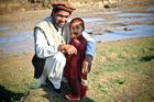 Foto vader met zoon