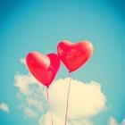 Foto Valentijn ballonnen