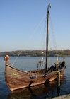 Foto viking ship - drakar