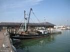Foto vissersboot