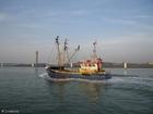 Foto vissersschip