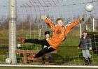 Foto voetbal keeper