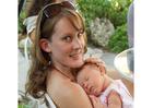 Foto vrouw met baby