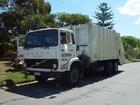 Foto vuilniswagen