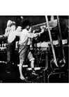 Foto werken in een textielfabriek