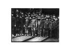 Foto kolen sorteren bij kolenmijn, 1910