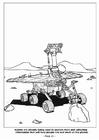 Kleurplaat 11- Robots om Mars te verkennen