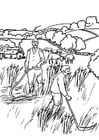 Kleurplaat 1c landbouwers