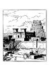 Kleurplaat Babylon